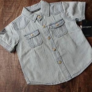NWT Lucky Brand Button Down Shirt